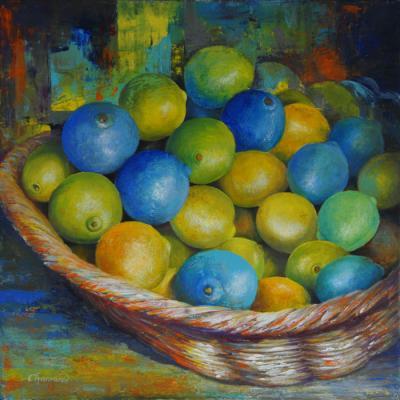 Citrons bleus