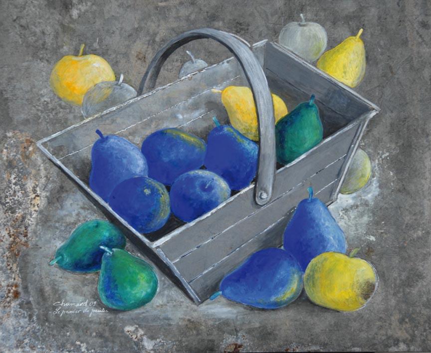 Poires bleues