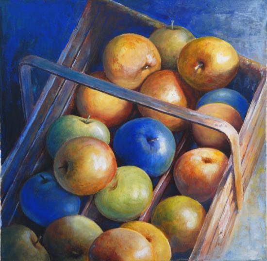 Pommes bleues