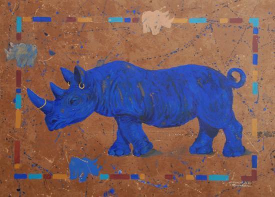 Rhinocéros bleu