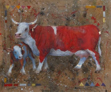La Vache rouge