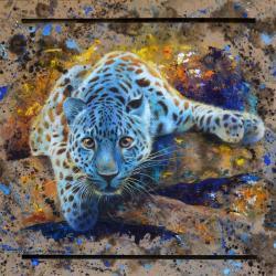 Panthère bleue