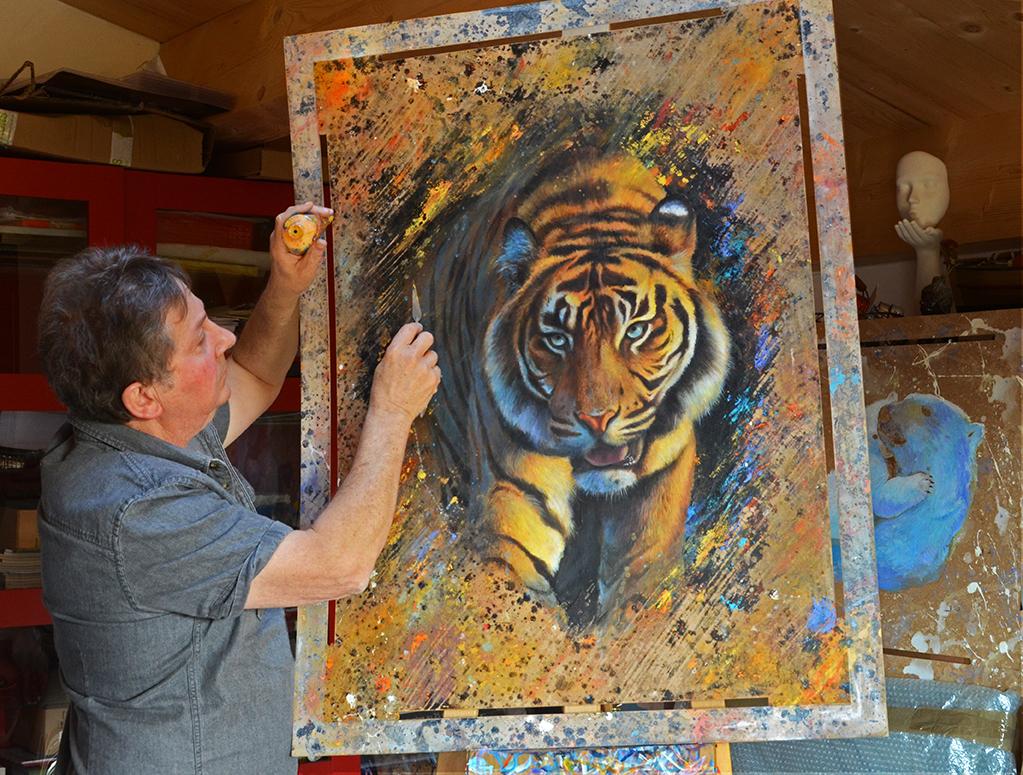 travail tigre