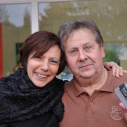 avec Brigitte Brom