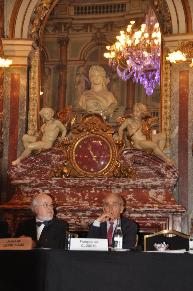 Dr Jean-Luc Lermusiaux et François de Closets