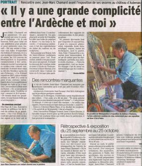 Le dauphine 22 sept 2015